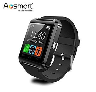 Aosmart Bluetooth Smartwatch with Camera android