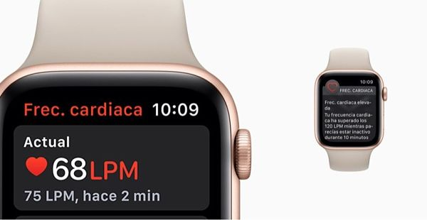 apple-watch-series Heart rate