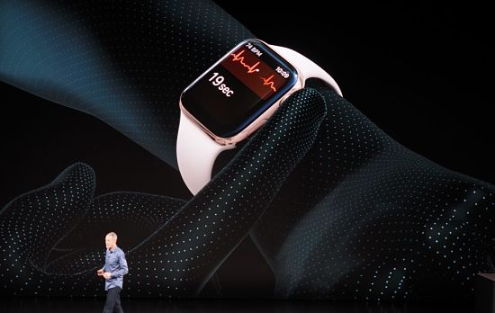 apple-watch-series 4 Heart rate - ECG