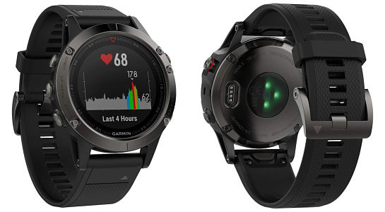 Garmin Fenix 5 - best smartwatches for iPhone