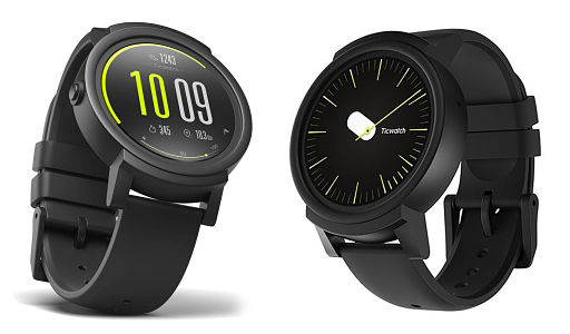 Ticwatch E - The Best Smartwatches Compatible With iOS